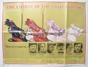 THE CHARGE OF THE LIGHT BRIGADE Cinema Quad Movie Poster