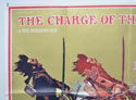THE CHARGE OF THE LIGHT BRIGADE (Top Left) Cinema Quad Movie Poster