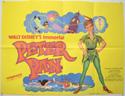 PETER PAN Cinema Quad Movie Poster