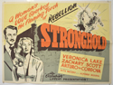 STRONGHOLD Cinema Quad Movie Poster