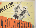 STRONGHOLD (Top Right) Cinema Quad Movie Poster