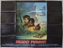 DEADLY PURSUIT Cinema Quad Movie Poster