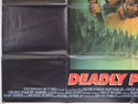 DEADLY PURSUIT (Bottom Left) Cinema Quad Movie Poster