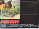 DEADLY PURSUIT (Bottom Right) Cinema Quad Movie Poster