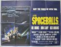 SPACEBALLS Cinema Quad Movie Poster