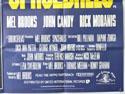 SPACEBALLS (Bottom Right) Cinema Quad Movie Poster