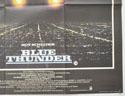 BLUE THUNDER (Bottom Right) Cinema Quad Movie Poster