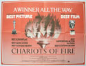 CHARIOTS OF FIRE Cinema Quad Movie Poster