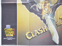 CLASH OF THE TITANS (Bottom Left) Cinema Quad Movie Poster