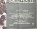 GANDHI (Bottom Right) Cinema Quad Movie Poster