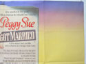 PEGGY SUE GOT MARRIED (Top Right) Cinema Quad Movie Poster