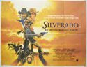 SILVERADO Cinema Quad Movie Poster