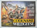 CODENAME WILDGEESE Cinema Quad Movie Poster