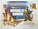 WEEKEND AT DUNKIRK Cinema Quad Movie Poster