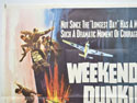WEEKEND AT DUNKIRK (Top Left) Cinema Quad Movie Poster