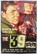 THE 39 STEPS Cinema One Sheet Movie Poster
