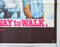 THE BEST WAY TO WALK (Bottom Right) Cinema Quad Movie Poster