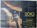 2010 : THE YEAR WE MAKE CONTACT Cinema Quad Movie Poster
