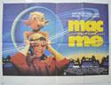 MAC AND ME Cinema Quad Movie Poster