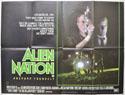 ALIEN NATION Cinema Quad Movie Poster
