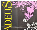 AMADEUS (Top Left) Cinema Quad Movie Poster
