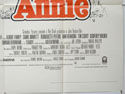 ANNIE (Bottom Right) Cinema Quad Movie Poster