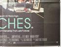 BEACHES (Bottom Right) Cinema Quad Movie Poster