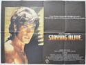 STAYING ALIVE Cinema Quad Movie Poster