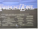 THE TWILIGHT ZONE (Bottom Right) Cinema Quad Movie Poster