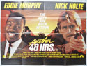 ANOTHER 48HRS Cinema Quad Movie Poster