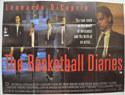 THE BASKETBALL DIARIES Cinema Quad Movie Poster