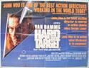 HARD TARGET Cinema Quad Movie Poster