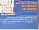 HARD TARGET (Bottom Right) Cinema Quad Movie Poster