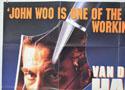 HARD TARGET (Top Left) Cinema Quad Movie Poster