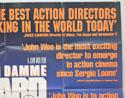 HARD TARGET (Top Right) Cinema Quad Movie Poster