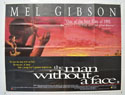 THE MAN WITHOUT A FACE Cinema Quad Movie Poster