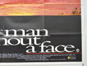 THE MAN WITHOUT A FACE (Bottom Right) Cinema Quad Movie Poster