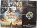 THE NEVER ENDING STORY II - THE NEXT CHAPTER Cinema Quad Movie Poster