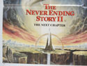 THE NEVER ENDING STORY II - THE NEXT CHAPTER (Bottom Left) Cinema Quad Movie Poster