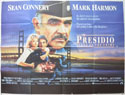 THE PRESIDIO Cinema Quad Movie Poster