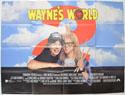 WAYNE'S WORLD 2 Cinema Quad Movie Poster