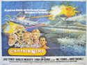 THE AMAZING CAPTAIN NEMO Cinema Quad Movie Poster