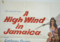 A HIGH WIND IN JAMAICA (Top Left) Cinema Quad Movie Poster