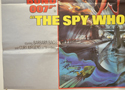 007 : THE SPY WHO LOVED ME (Bottom Left) Cinema Quad Movie Poster