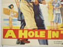 A HOLE IN THE HEAD (Bottom Left) Cinema Quad Movie Poster
