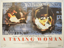 A TAXING WOMAN Cinema Quad Movie Poster