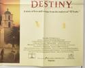 A TIME OF DESTINY (Bottom Right) Cinema Quad Movie Poster