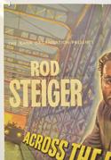 ACROSS THE BRIDGE (Top Left) Cinema One Sheet Movie Poster