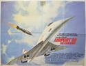 AIRPORT '80... THE CONCORDE Cinema Quad Movie Poster