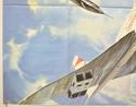 AIRPORT '80... THE CONCORDE (Bottom Left) Cinema Quad Movie Poster